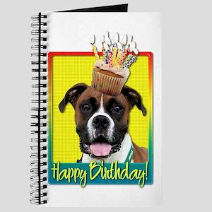 Birthday Cupcake - Boxer Journal