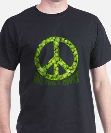 """""""Give Peas a Chance"""" T-Shirt"""
