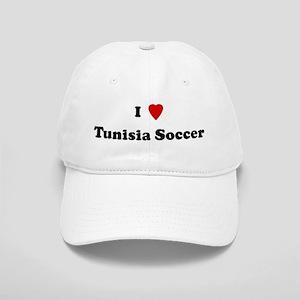 I Love Tunisia Soccer Cap