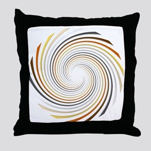 Bear Pride Spiral Throw Pillow