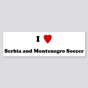 I Love Serbia and Montenegro Bumper Sticker