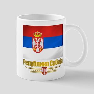 """""""Serbian Flag"""" Mug"""