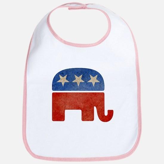 Republican Logo -Faded Bib