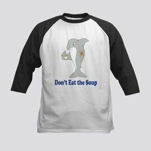 Don't Eat the Soup Kids Baseball Jersey