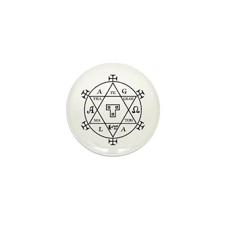 Hexagram of Solomon Buttons Mini Button