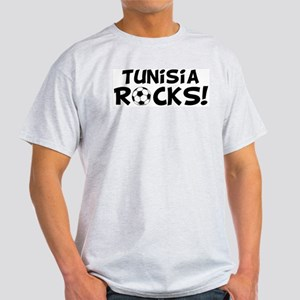 Tunisia Rocks! Ash Grey T-Shirt