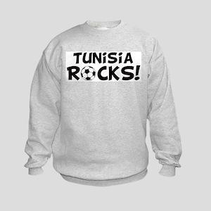 Tunisia Rocks! Kids Sweatshirt