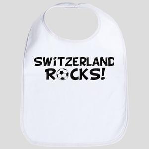 Switzerland Rocks! Bib