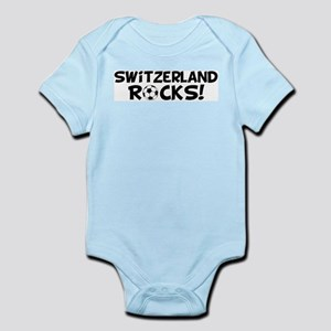 Switzerland Rocks! Infant Creeper