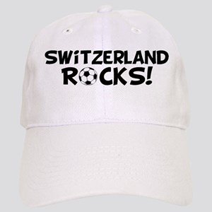 Switzerland Rocks! Cap