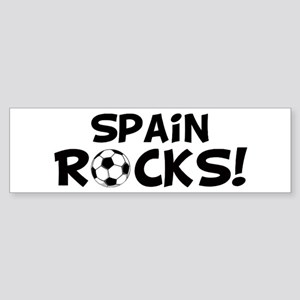 Spain Rocks! Bumper Sticker
