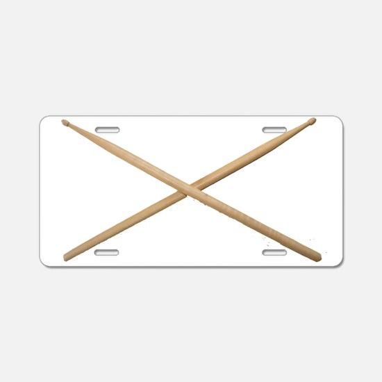 DRUMSTICKS III™ Aluminum License Plate