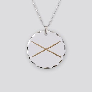 DRUMSTICKS III™ Necklace Circle Charm