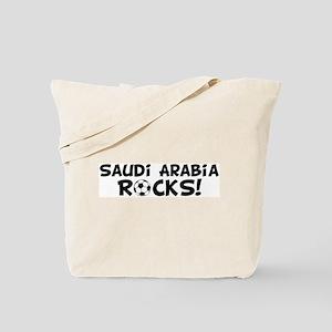 Saudi Arabia Rocks! Tote Bag
