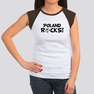 Poland Rocks! Women's Cap Sleeve T-Shirt