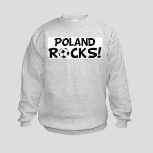 Poland Rocks! Kids Sweatshirt