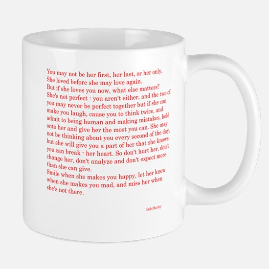 How to love a woman Mug