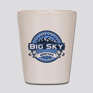 Big Sky Blue Shot Glass