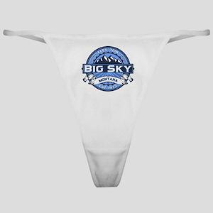 Big Sky Blue Classic Thong