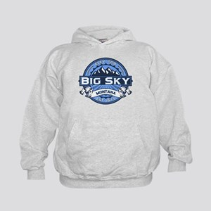 Big Sky Blue Kids Hoodie