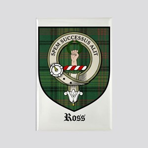 Ross Clan Crest Tartan Rectangle Magnet (10 pack)