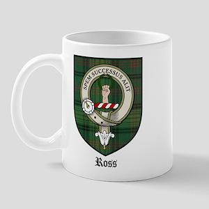 Ross Clan Crest Tartan Mug