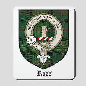 Ross Clan Crest Tartan Mousepad