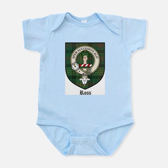 Ross Clan Crest Tartan Infant Creeper