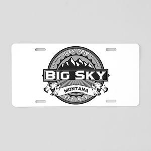 Big Sky Grey Aluminum License Plate