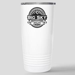 Big Sky Grey Stainless Steel Travel Mug