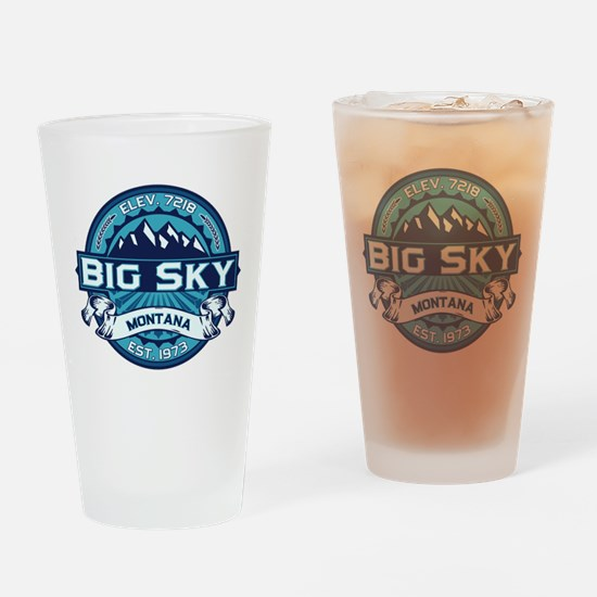 Big Sky Ice Drinking Glass