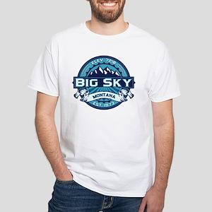 Big Sky Ice White T-Shirt