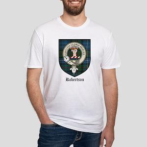 Robertson Clan Crest Tartan Fitted T-Shirt