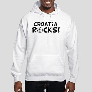 Croatia Rocks! Hooded Sweatshirt