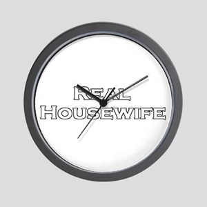 Real Housewife Wall Clock