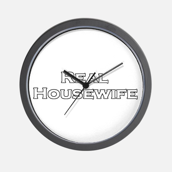 Real Housewife Wall Clock