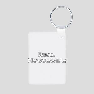 Real Housewife Aluminum Photo Keychain