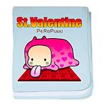Valentine PeRoPuuu baby blanket
