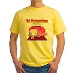 Valentine PeRoPuuu Yellow T-Shirt