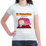 Valentine PeRoPuuu Jr. Ringer T-Shirt