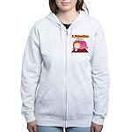 Valentine PeRoPuuu Women's Zip Hoodie