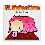 Valentine PeRoPuuu Tile Coaster
