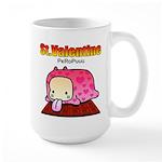 Valentine PeRoPuuu Large Mug