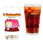 Valentine PeRoPuuu Drinking Glass
