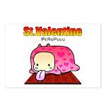 Valentine PeRoPuuu Postcards (Package of 8)