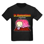 Valentine PeRoPuuu Kids Dark T-Shirt