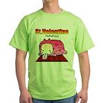 Valentine PeRoPuuu Green T-Shirt