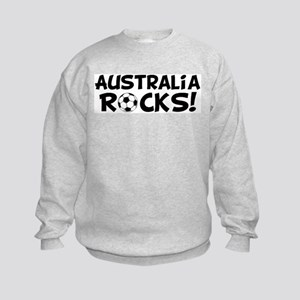 Australia Rocks! Kids Sweatshirt