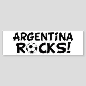 Argentina Rocks! Bumper Sticker