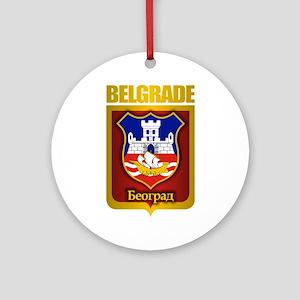 """""""Belgrade Gold"""" Ornament (Round)"""